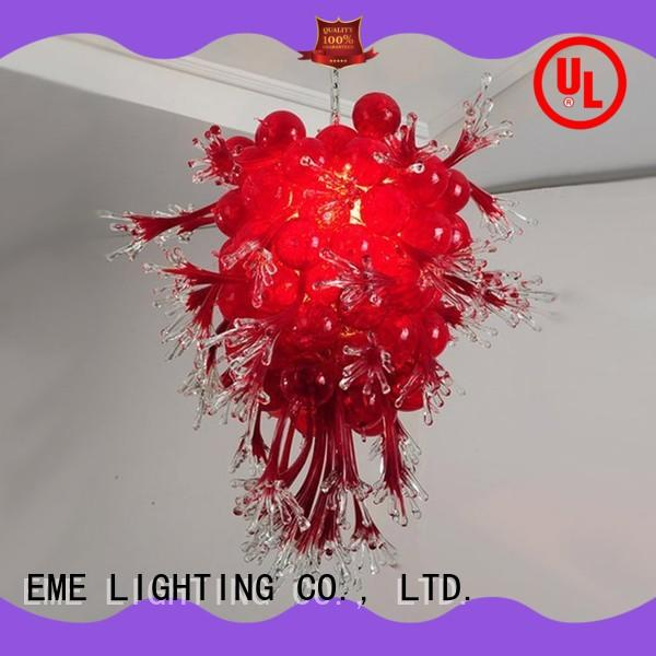 hanging decorative pendant light colored coral for hobby EME LIGHTING