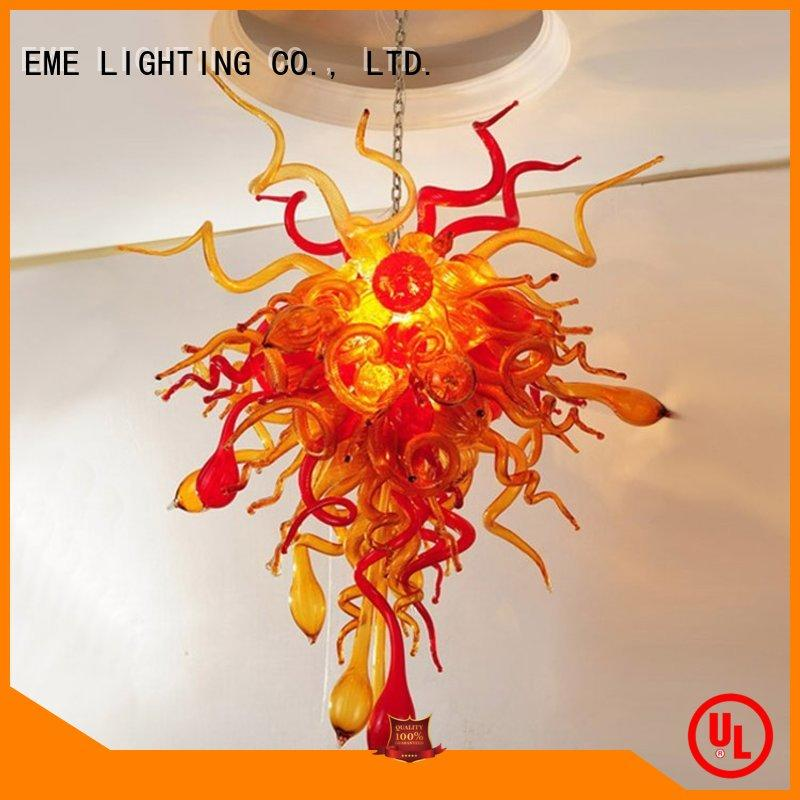 decorative pendant light colored coral for hobby EME LIGHTING