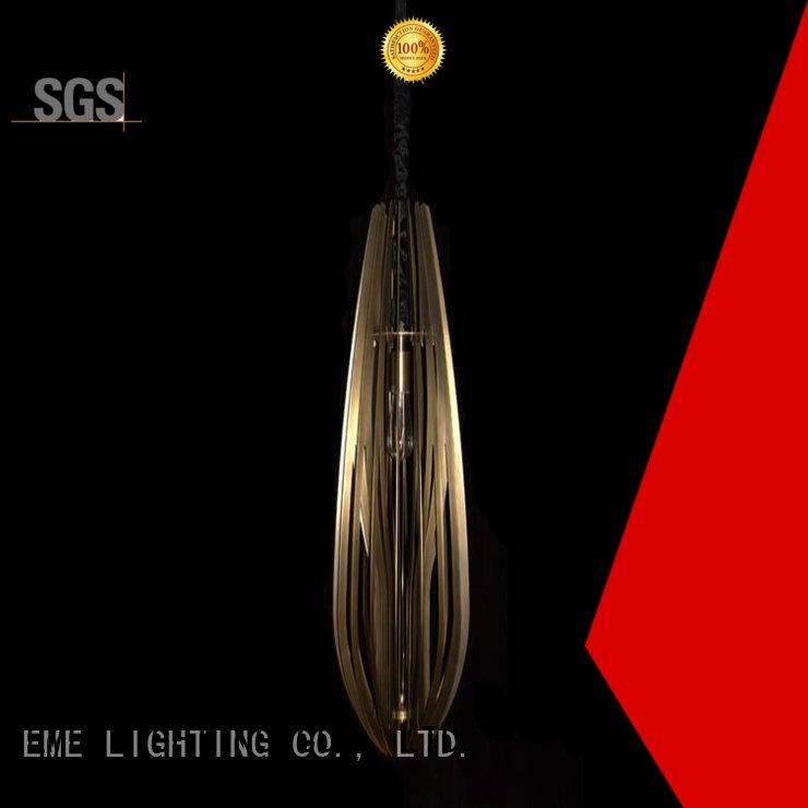 EME LIGHTING brass modern floor standing lamps free sample for indoor decoration