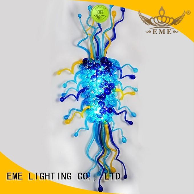 lighting for restaurants and bars md336pure heart EME LIGHTING Brand copper and glass pendant light