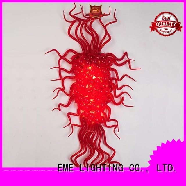 red restaurant pendant light starfish heart for hotel