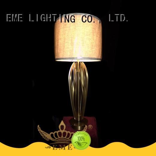 Modern Brass Table Lamp (D420*H680)