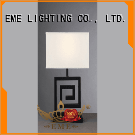 decorative restaurant glass EME LIGHTING Brand western table lamps supplier