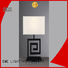 EME LIGHTING Brand concise western chrome and glass table lamps