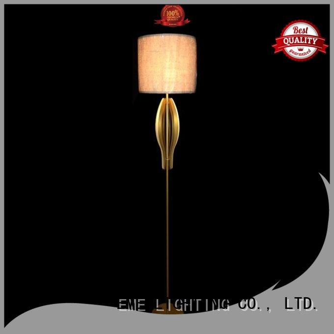 EME LIGHTING contemporary hotel floor lamps OEM for indoor decoration