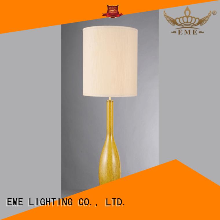 EME LIGHTING retro wood table lamp modern factory price for restaurant