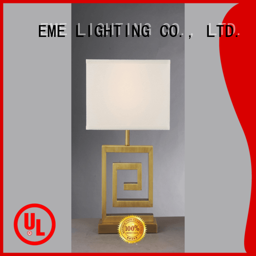 restaurant chrome and glass table lamps country EME LIGHTING company