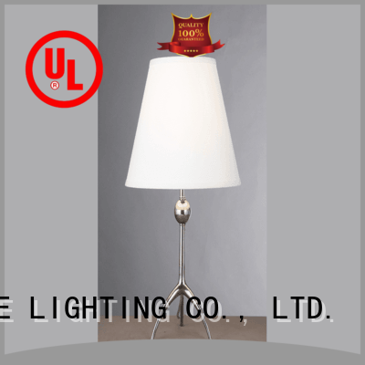 EME LIGHTING Brand contemporary chrome and glass table lamps copper supplier