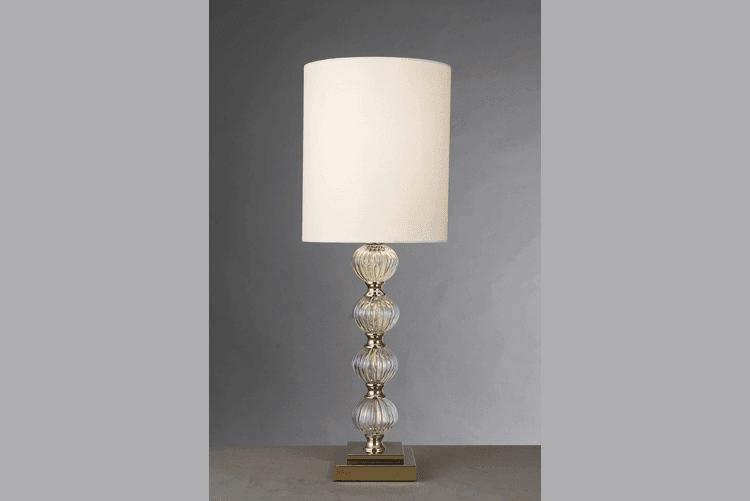 Elegant White Table Lamp (EMT-037)