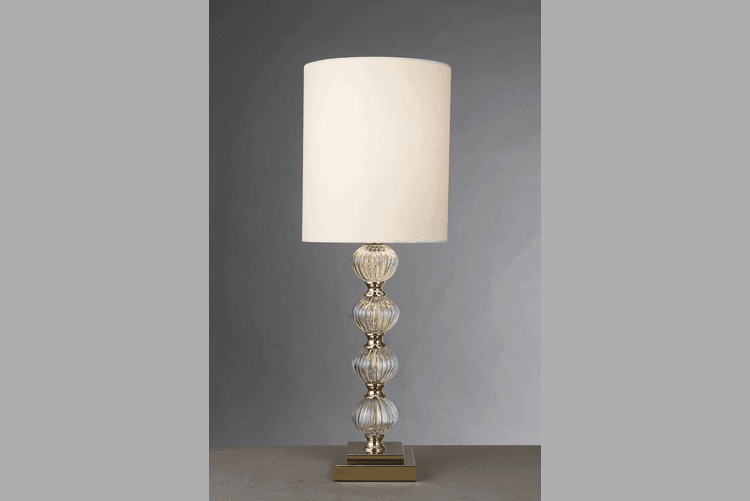 Elegant White Table Lamp (EMT-037)