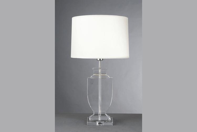 EME LIGHTING White Glass Table Lamp (EMT-050) Western Style image27