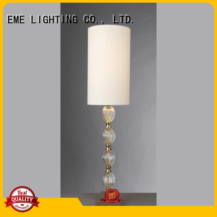 vintage glass table lamps for bedroom bulk production for study EME LIGHTING