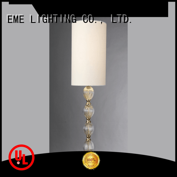 chrome and glass table lamps EME vintage lamp EME LIGHTING Brand western table lamps