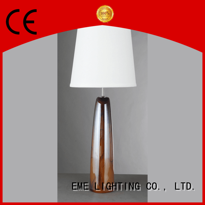 EME LIGHTING decorative glass table lamps for living room cheap for restaurant