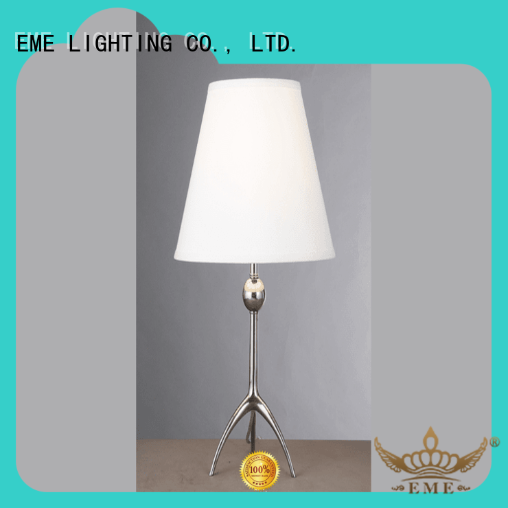 EME LIGHTING retro western table lamps brass material for bedroom
