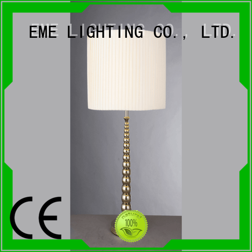Hot white western table lamps wood style EME LIGHTING Brand