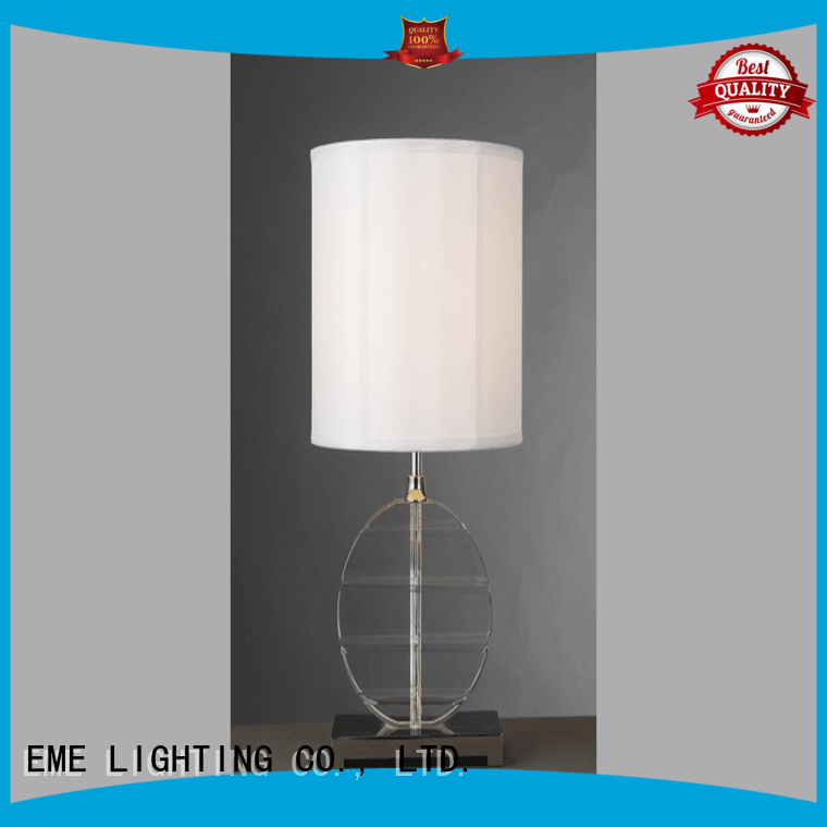EME LIGHTING elegant wood table lamp modern concise for house