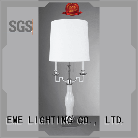 chrome and glass table lamps european western table lamps EME LIGHTING Brand