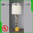 European style chrome and glass table lamps decorative for bedroom EME LIGHTING