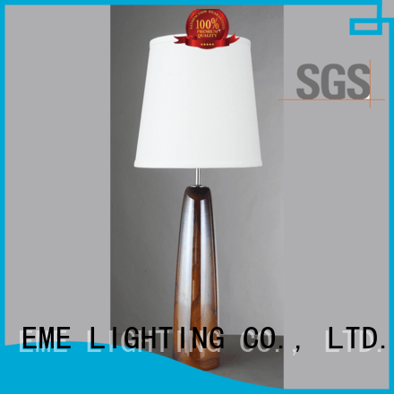EME LIGHTING Brand copper EME chrome and glass table lamps