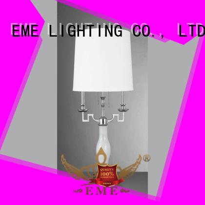EME LIGHTING contemporary wood table lamp modern bulk production for restaurant
