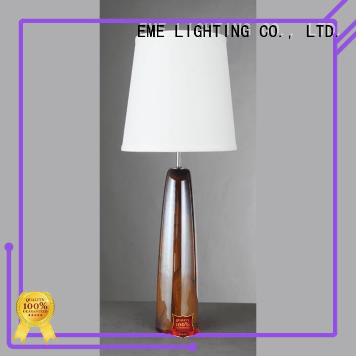 EME LIGHTING unique design elegant table lamp copper material for study