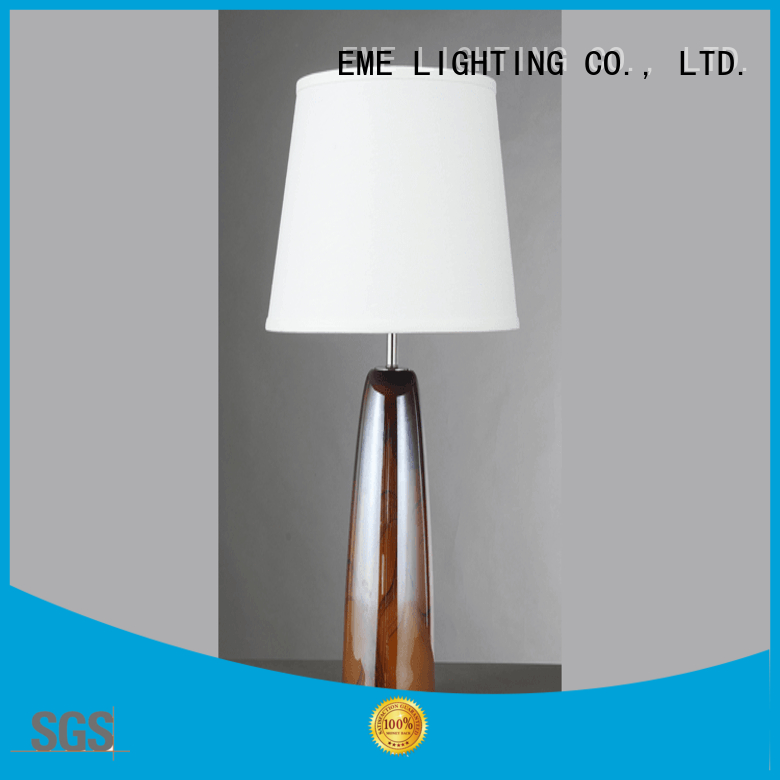 EME LIGHTING retro glass table lamps for living room factory price for bedroom