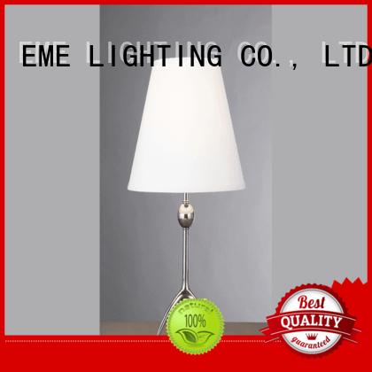 EME LIGHTING European style wood table lamp modern copper material