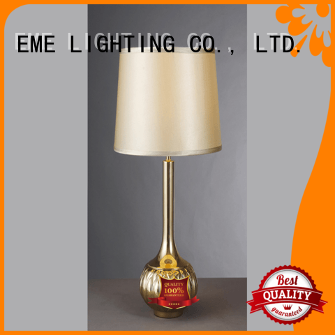 oriental table lamps metal for bedroom EME LIGHTING
