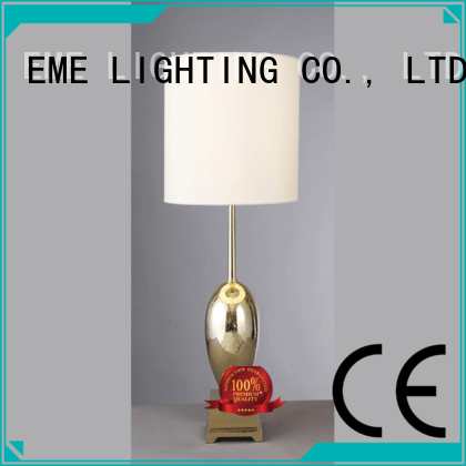 modern black table EME LIGHTING Brand chinese style table lamp manufacture