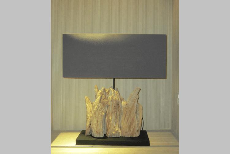 Hotel Decorative Wood Table Lamp (MT338)