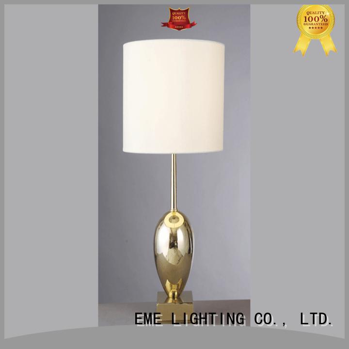 EME LIGHTING decorative oriental table lamps flower pattern for restaurant