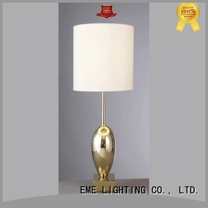 EME LIGHTING decorative oriental table lamps flower pattern for restaurant