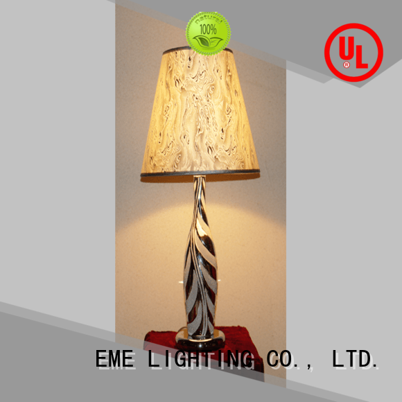 EME LIGHTING Brand gold bedside chinese style table lamp