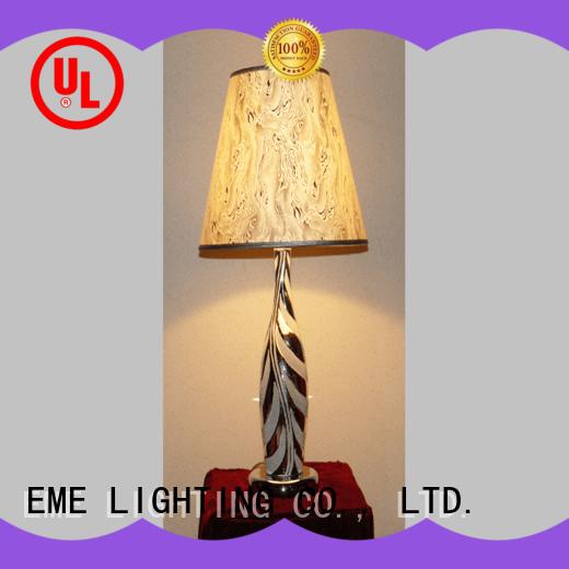 EME LIGHTING black colored table lamp elegant for bedroom