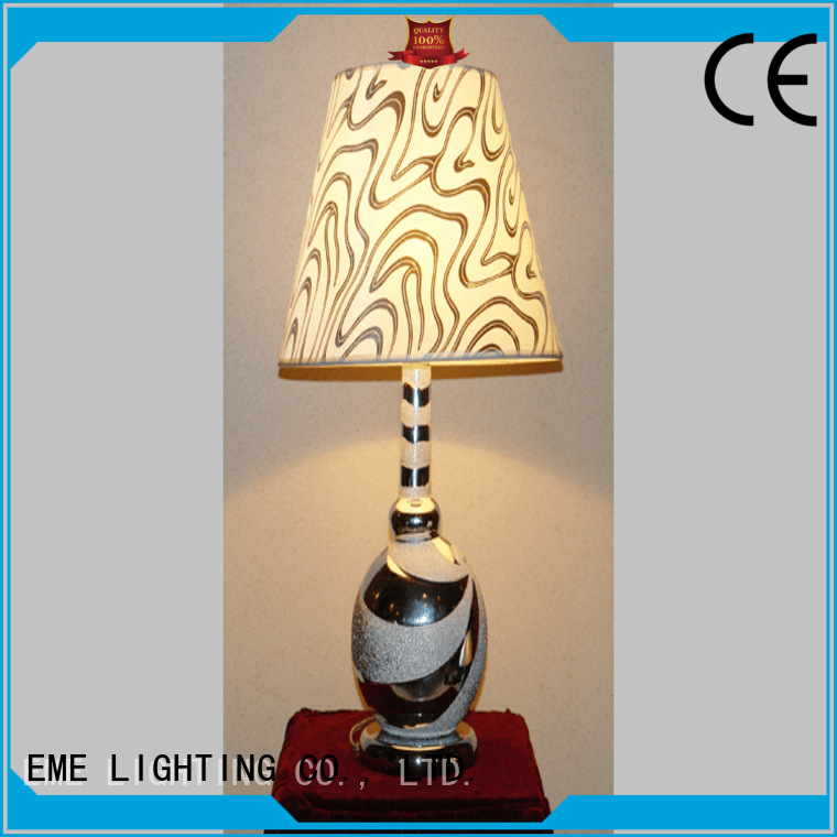 chinese style colored chinese style table lamp restaurant gold EME LIGHTING Brand
