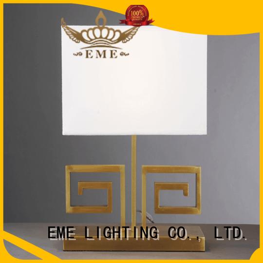 EME LIGHTING elegant glass table lamps for bedroom cheap for bedroom