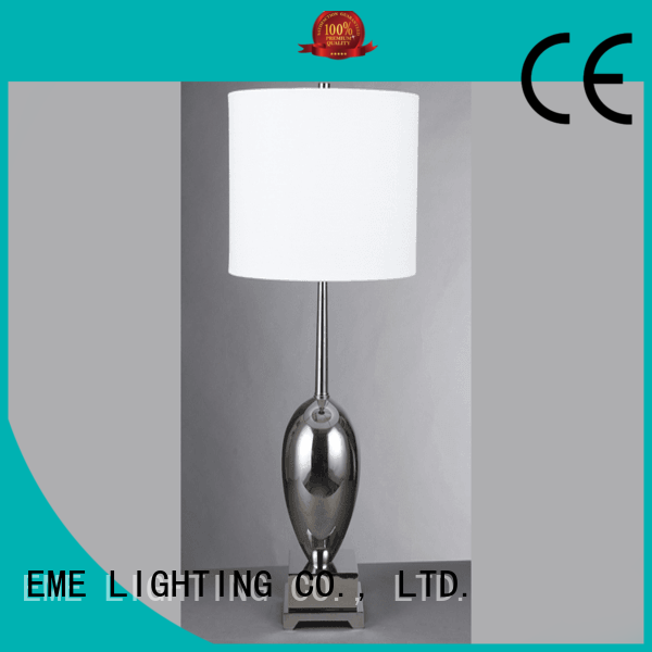 White Table Lamp Emt 007 Chinese Style