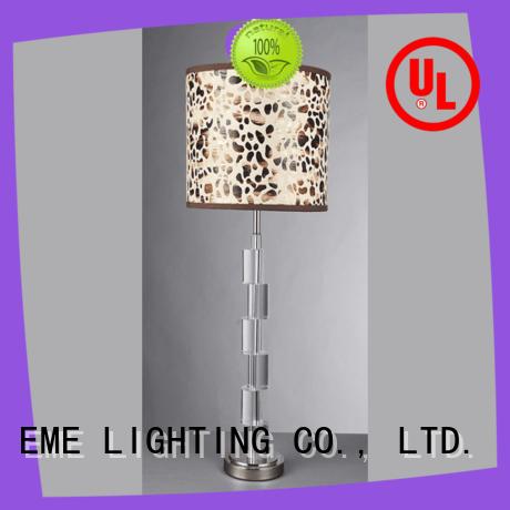 EME LIGHTING retro wood table lamp modern bulk production for bedroom