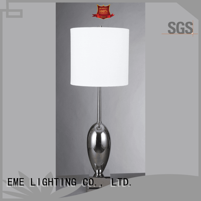 EME LIGHTING luxury colored table lamp modern for bedroom