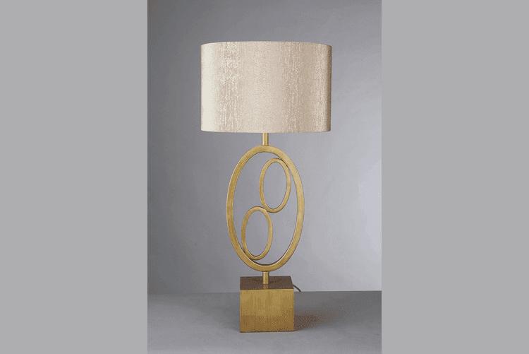 Golden Table Lamp (EMT-016)