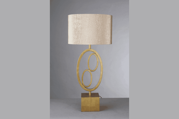 Golden Table Lamp (EMT-016)