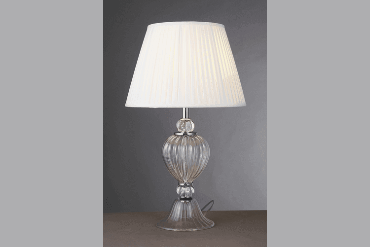 Elegant Glass Table Lamp (EMT-017)