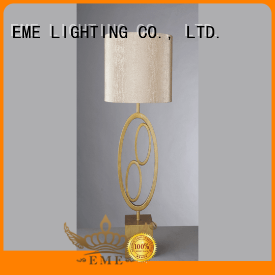 black colored table lamp luxury fancy for restaurant