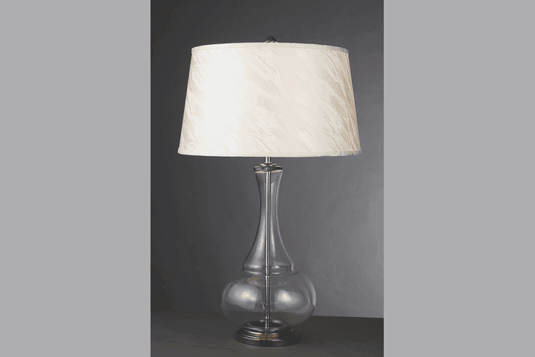 Restaurant Glass Table Lamp (EMT-018)