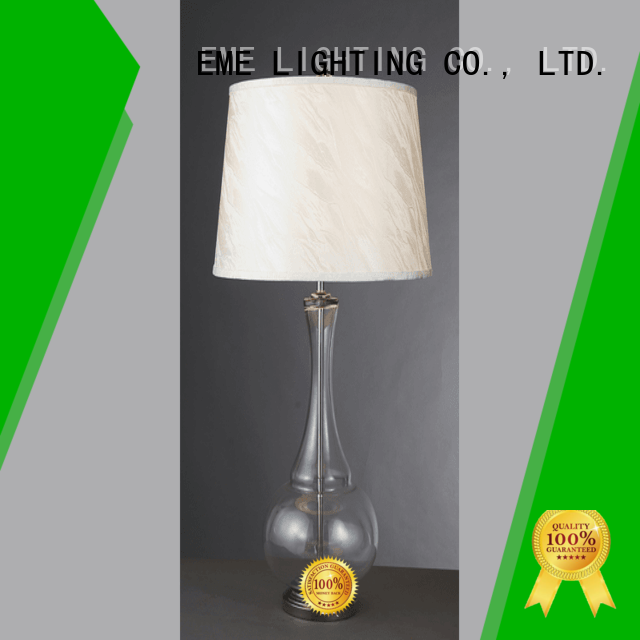light colored EME LIGHTING Brand chinese style table lamp factory