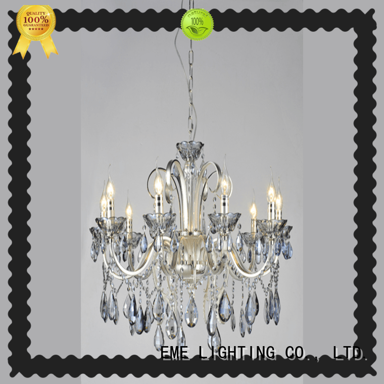 customized crystal drop chandelier round latest design for lobby