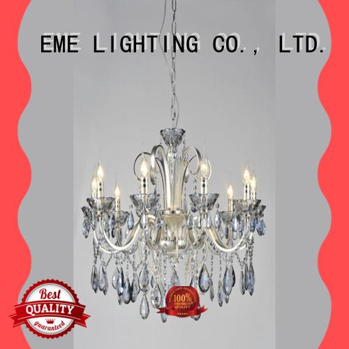 decorative acrylic crystal chandelier wholesale bulk production for lobby