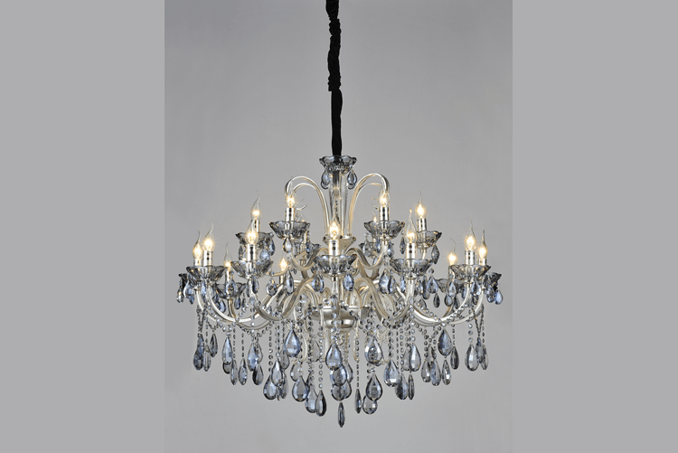 EME LIGHTING acrylic flush mount crystal chandelier on-sale for lobby-1
