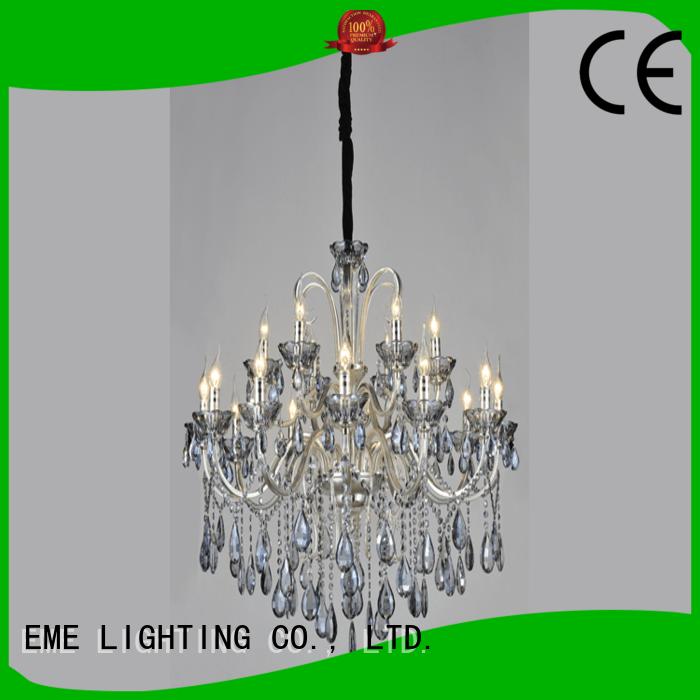 EME LIGHTING customized Luxury Chandeliers bulk production for lobby